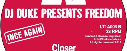 DJ Duke Presents Freedom - Closer (Sean McCabe Club Mix)